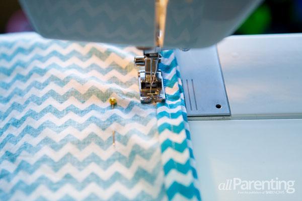 allParenting homemade pillowcase dress step 6