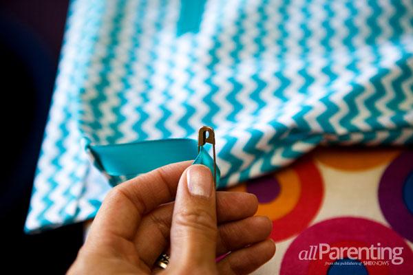 allParenting homemade pillowcase dress step 7
