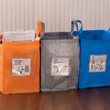 Gaiam Folding recycling bags