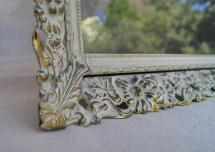 Etsy Rectangular Filigree Frame, Chalkboard Frame, or Tray Shabby Chic Décor