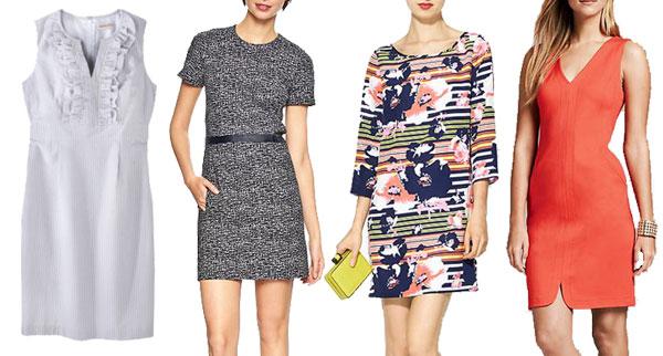 Spring dresses: Sheath dress