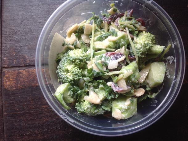 Summer salads: Even Greener Broccoli Salad