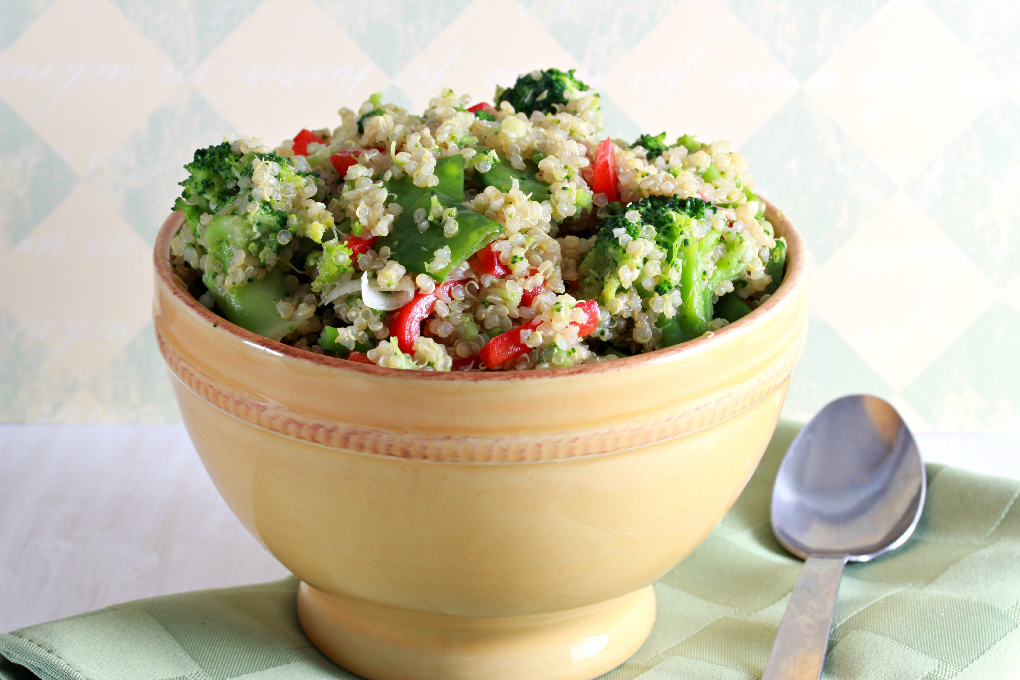 Summer salads: Broccoli and quinoa salad
