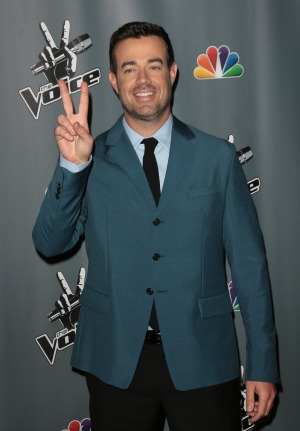 Carson Daly's fiancee is pregnant with their third child