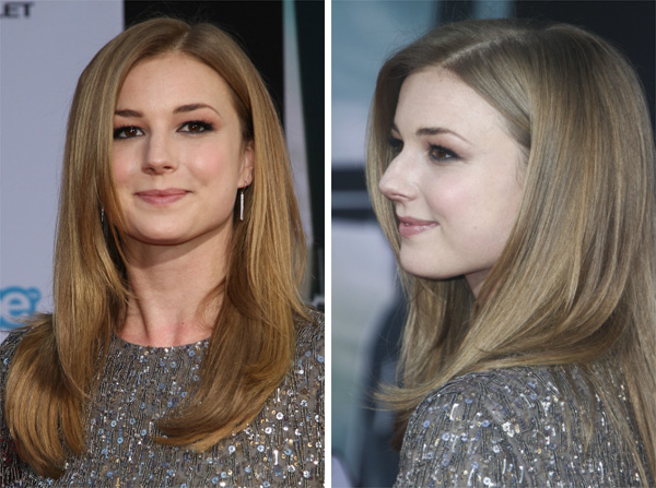 Emily VanCamp's soft, bouncy blowout
