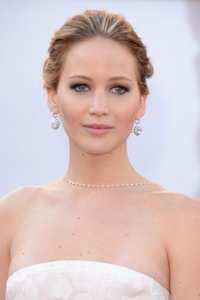 2013 Academy awards with Jennifer Lawrence