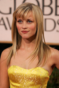 2007 Golden Globes with Reese Witherspoon