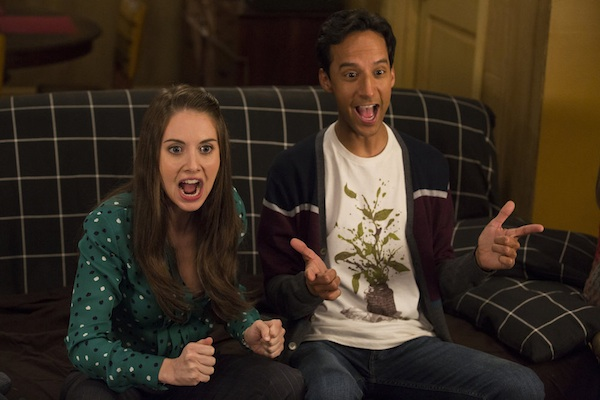Annie and Abed battle over new roommate
