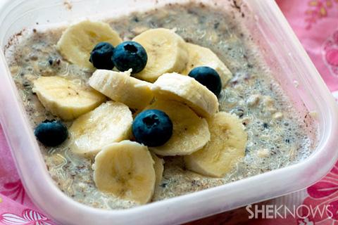 Fresh and fruity overnight breakfast quinoa recipe