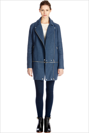 Shop the look: Warehouse Tweed Zip Off Biker Coat (warehouse.andotherbrands.com, $169)