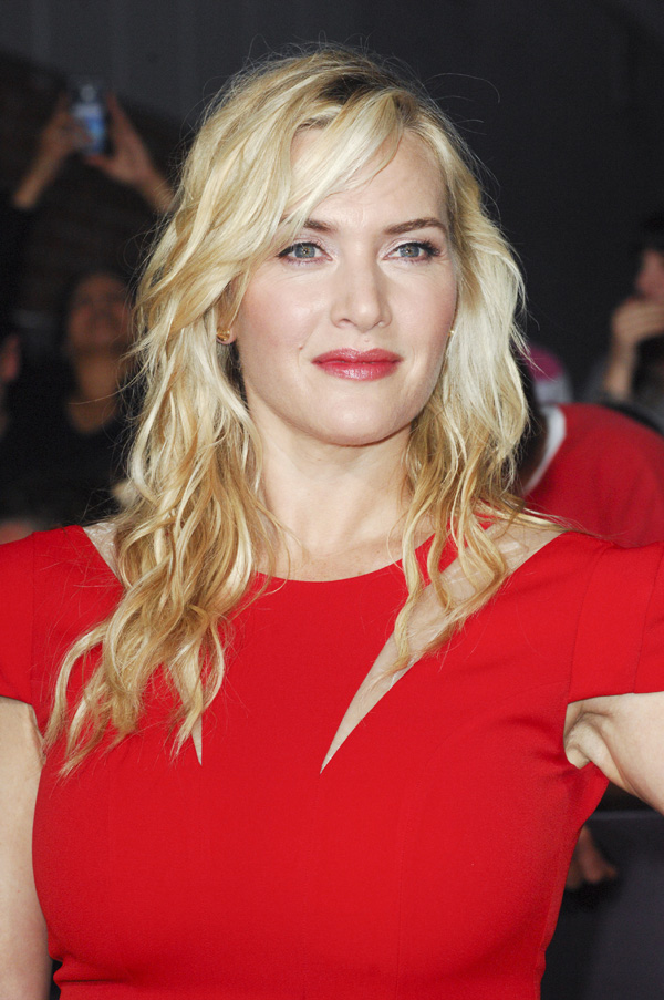 Kate Winslet at LA premiere for Divergent