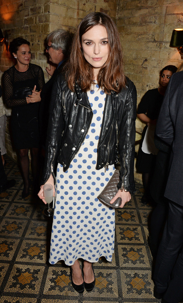 Get the look: Keira Knightley's edgy chic outfit