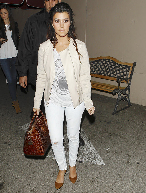 Get the look: Kourtney Kardashian's Cali cool style