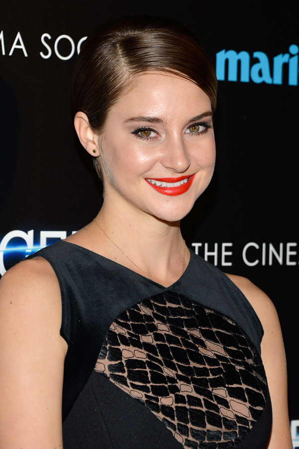 Get the look: Shailene Woodley's Divergent premiere makeup
