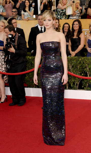 Jennifer Lawrence's 2014 SAG Awards Dress