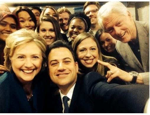 The battle of the selfies begins
