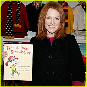 Win an autographed Freckleface Strawberry book set from SheKnows!