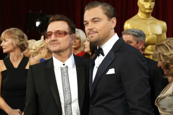 Leonardo DiCaprio Bono