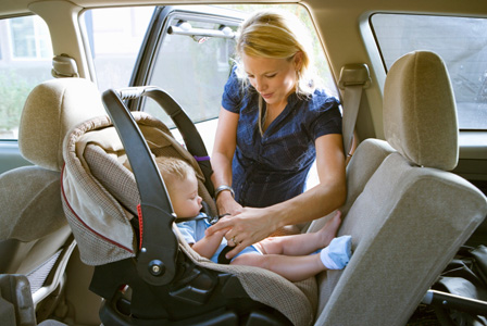 Baby in car seat | Sheknows.com
