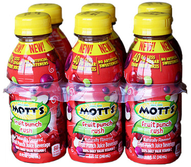 Mott's Fruit Rush Punch