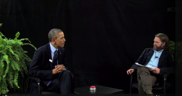 Obama on Between Two Ferns