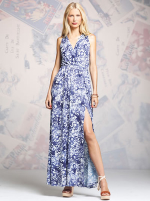 Peter Som for DesigNation wrap maxi dress ($78)