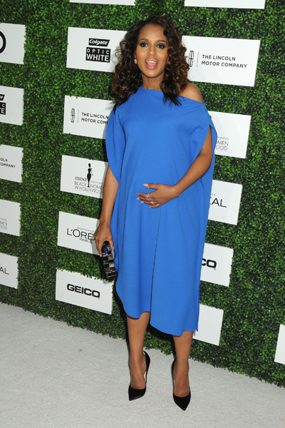 Pregnant Kerry Washington