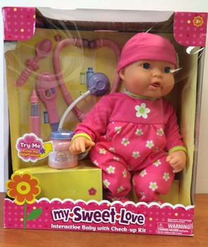 Recalled Wal-Mart baby doll