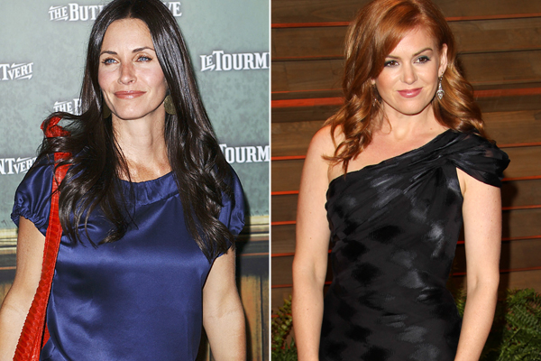 Courtney Cox, Isla Fisher
