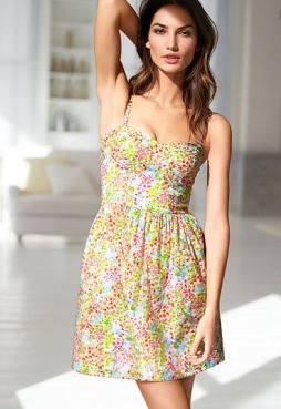 Victoria's Secret Corset dress floral