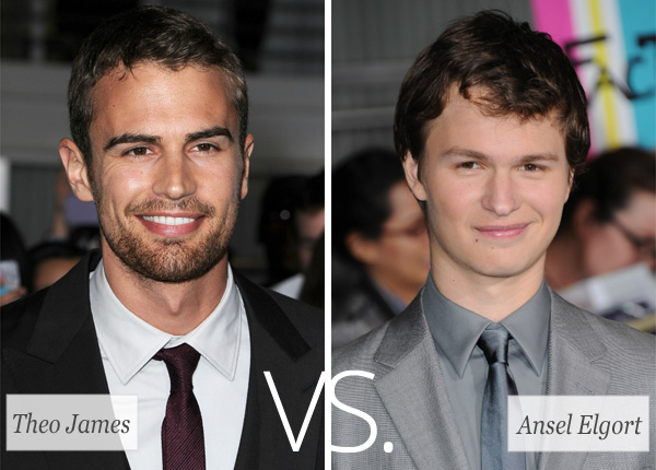 Does Theo James Have A Girlfriend Theo james vs. ansel elgort