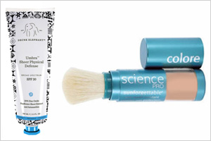 Shop the look: Protect all that skin you're baring with a strong SPF like Drunk Elephant Umbra Sheer Physical Defense SPF 30(drunkelephant.com, $42) or Colorescience Sunforgettable Mineral Sunscreen Brush SPF 50(colorescience.com, $62).
