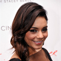 Vanessa Hudgens' twisted ponytail