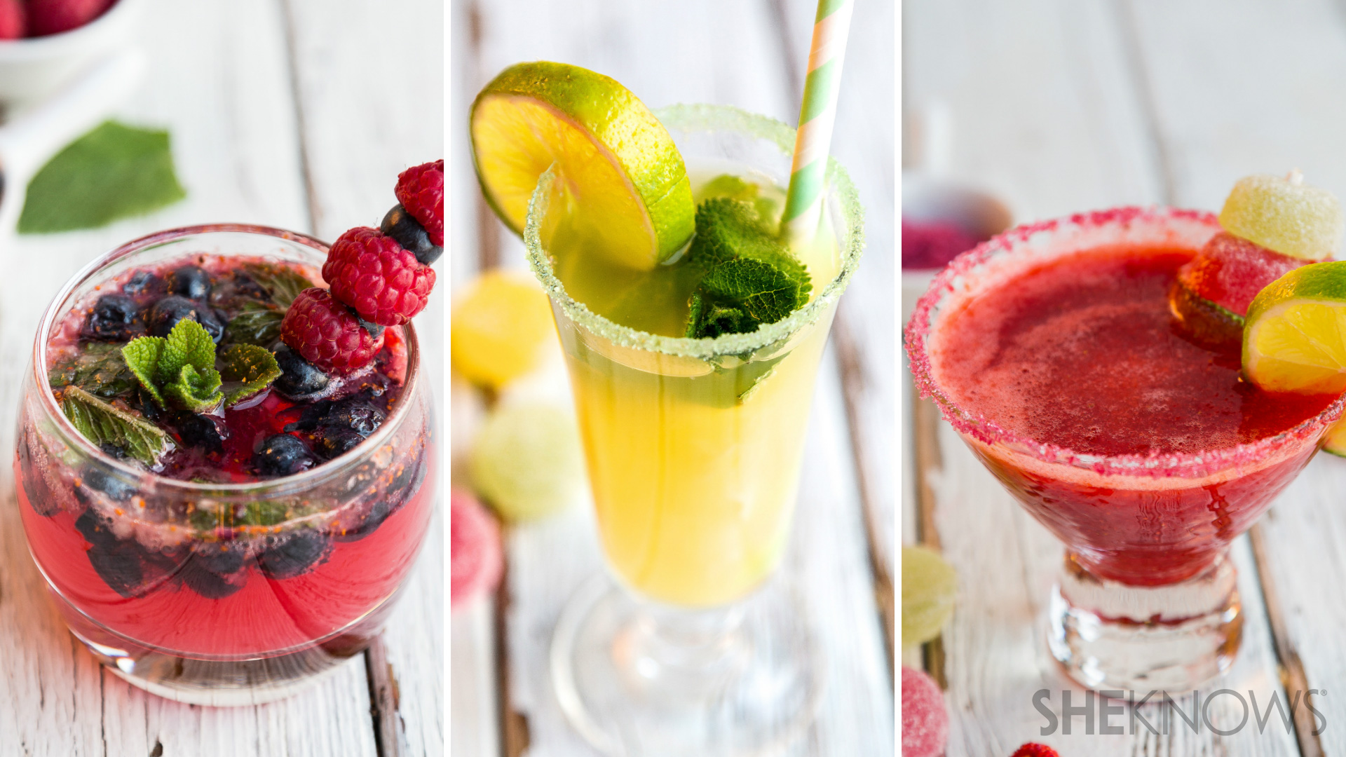 3 Kid-friendly cocktails