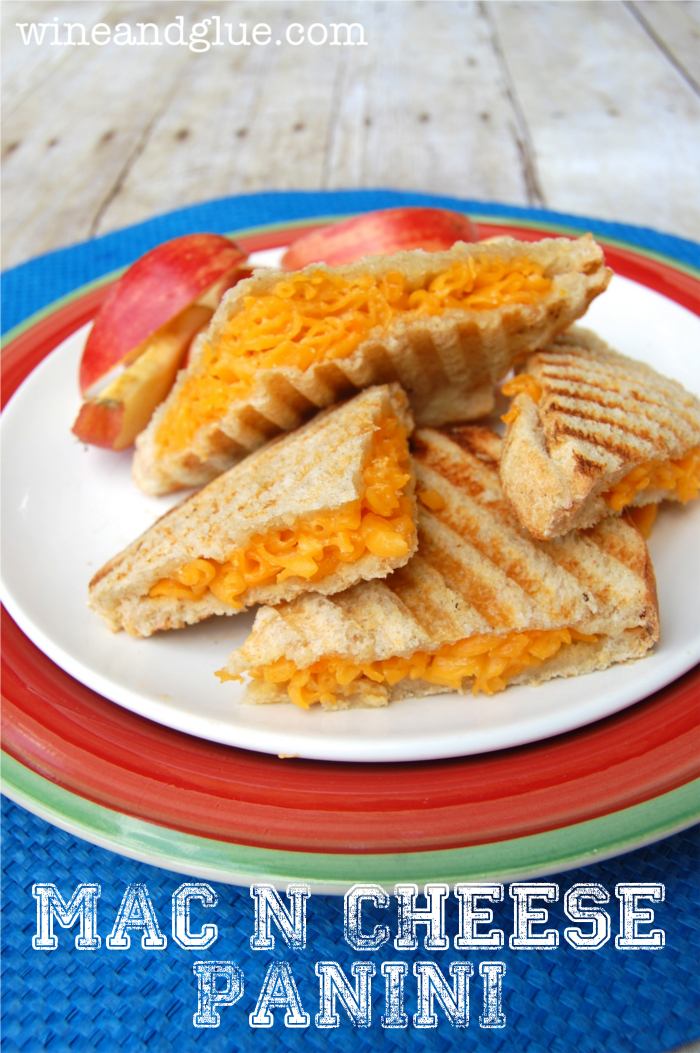 Mac and cheese panini