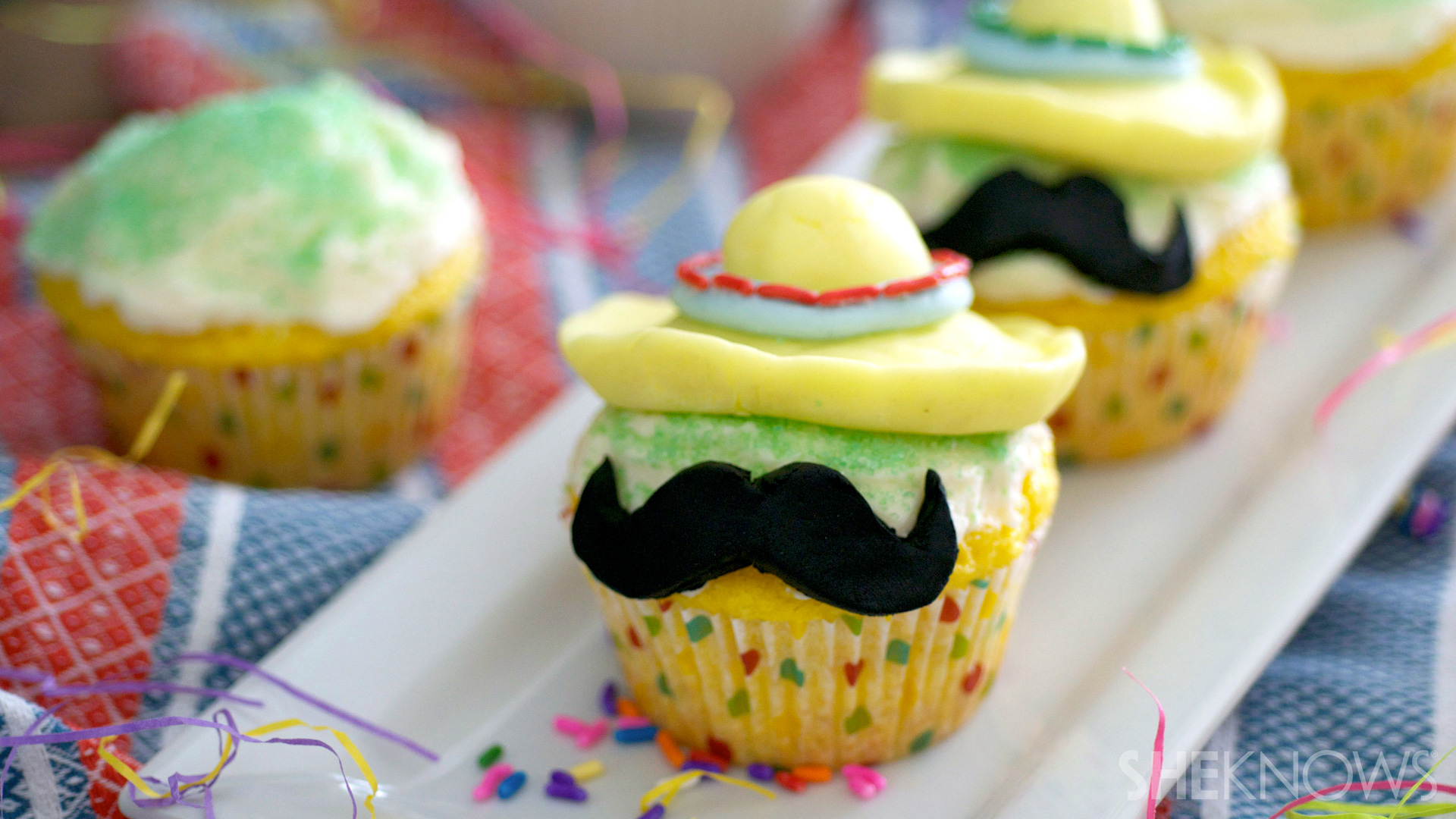 Cute little cuppies for Cinco de Mayo