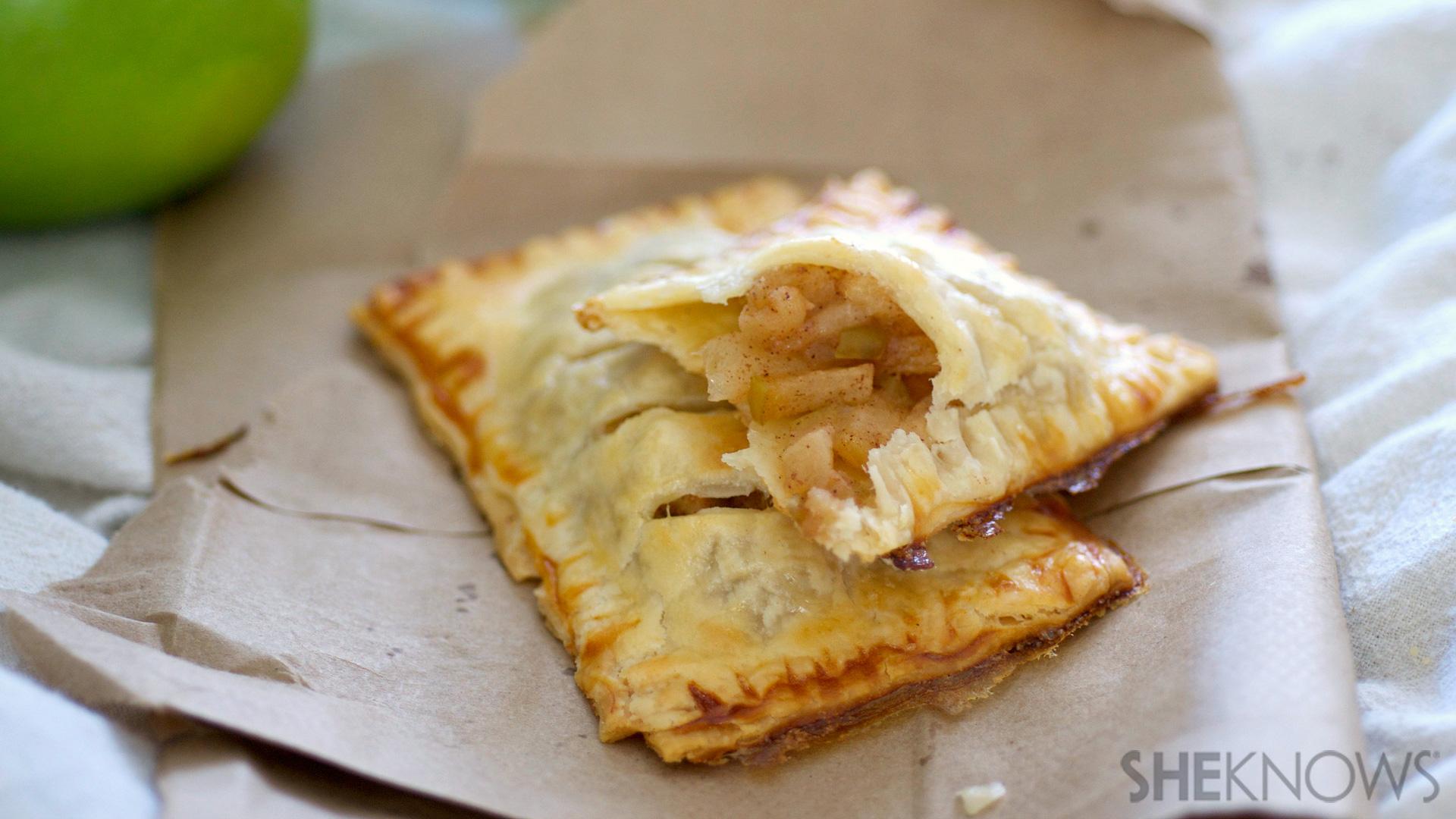 Apple Pie Turnover Mcdonald's Baked Apple Pie