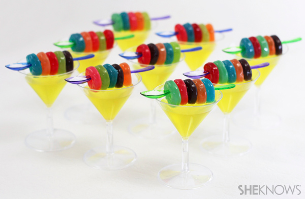 Festive shooters with a dash of salt