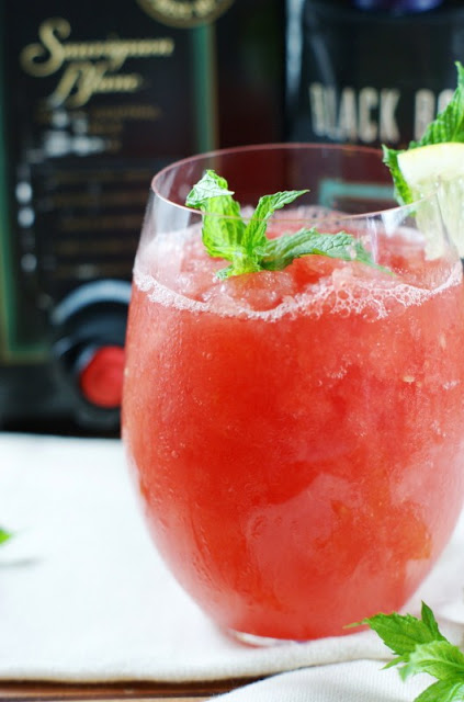 Watermelon moscato slush