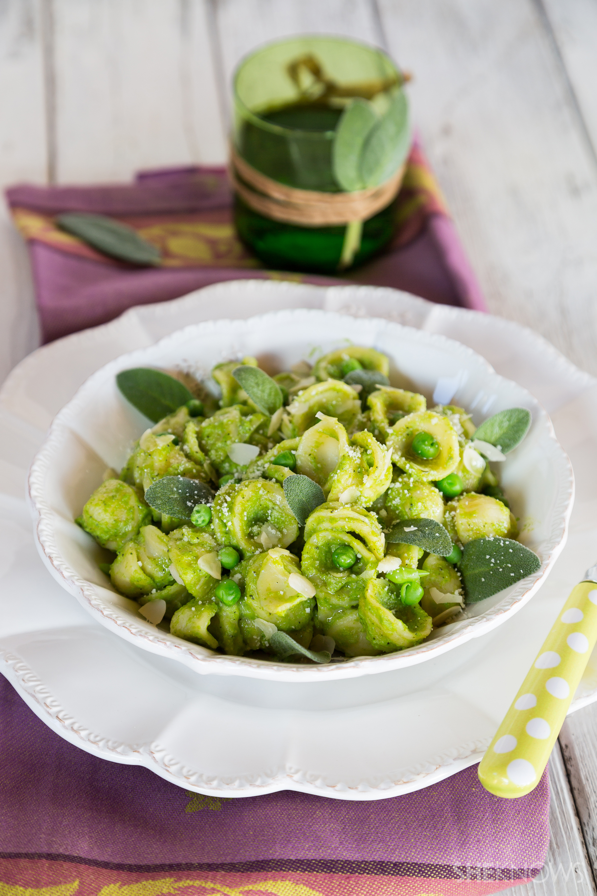 Pesto and pasta for a healthy change
