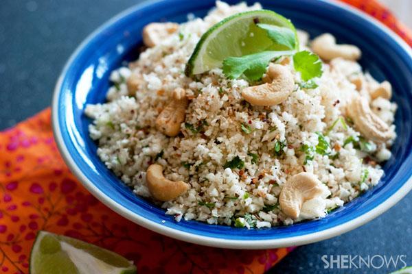 Thai infused cauliflower rice recipe