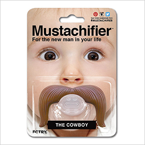 Moustachifier pacifier | Sheknows.com