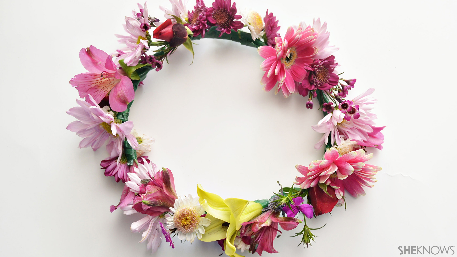 Flower crown | Sheknows.com - Final product