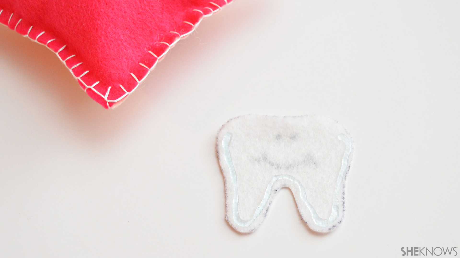 Tooth fairy pillow | Sheknows.com - step six