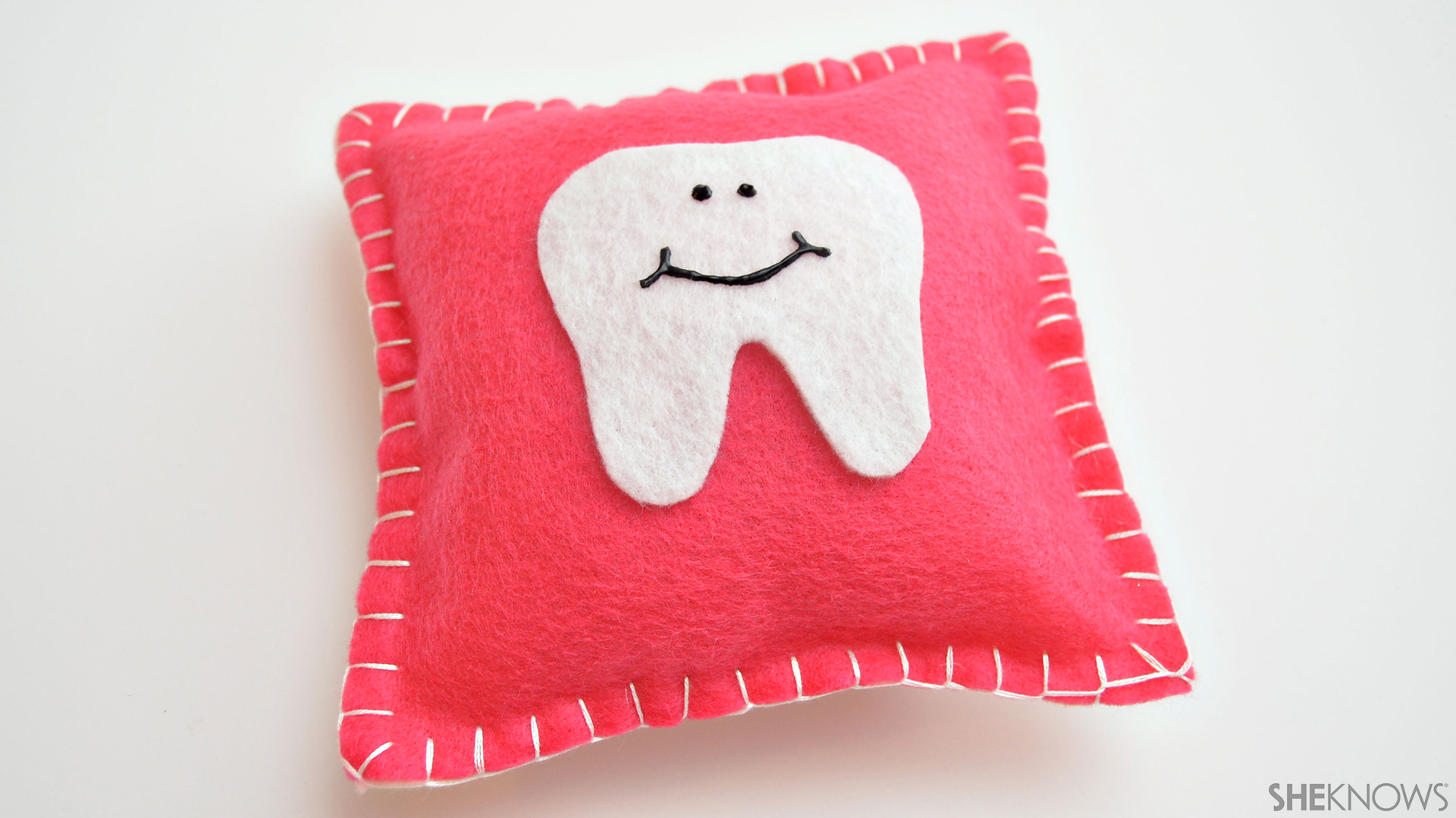 Tooth fairy pillow | Sheknows.com - final product