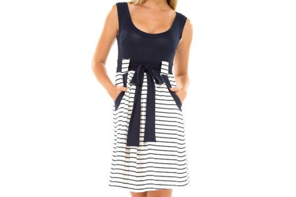 Nautical mama dress | Sheknows.com