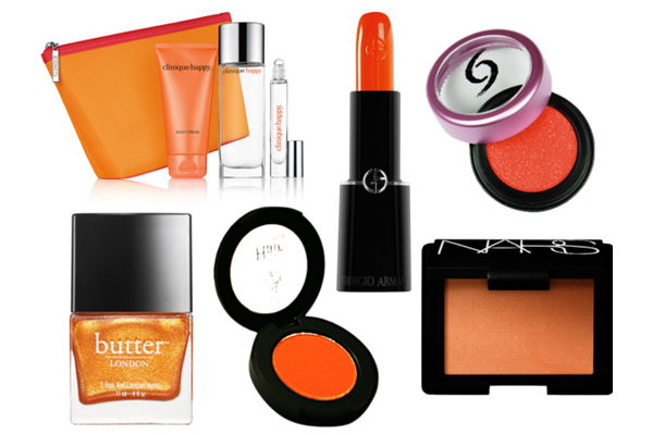 Orange polyvore set 3 | Sheknows.com