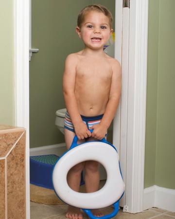 Unhappy boy potty training | Sheknows.com