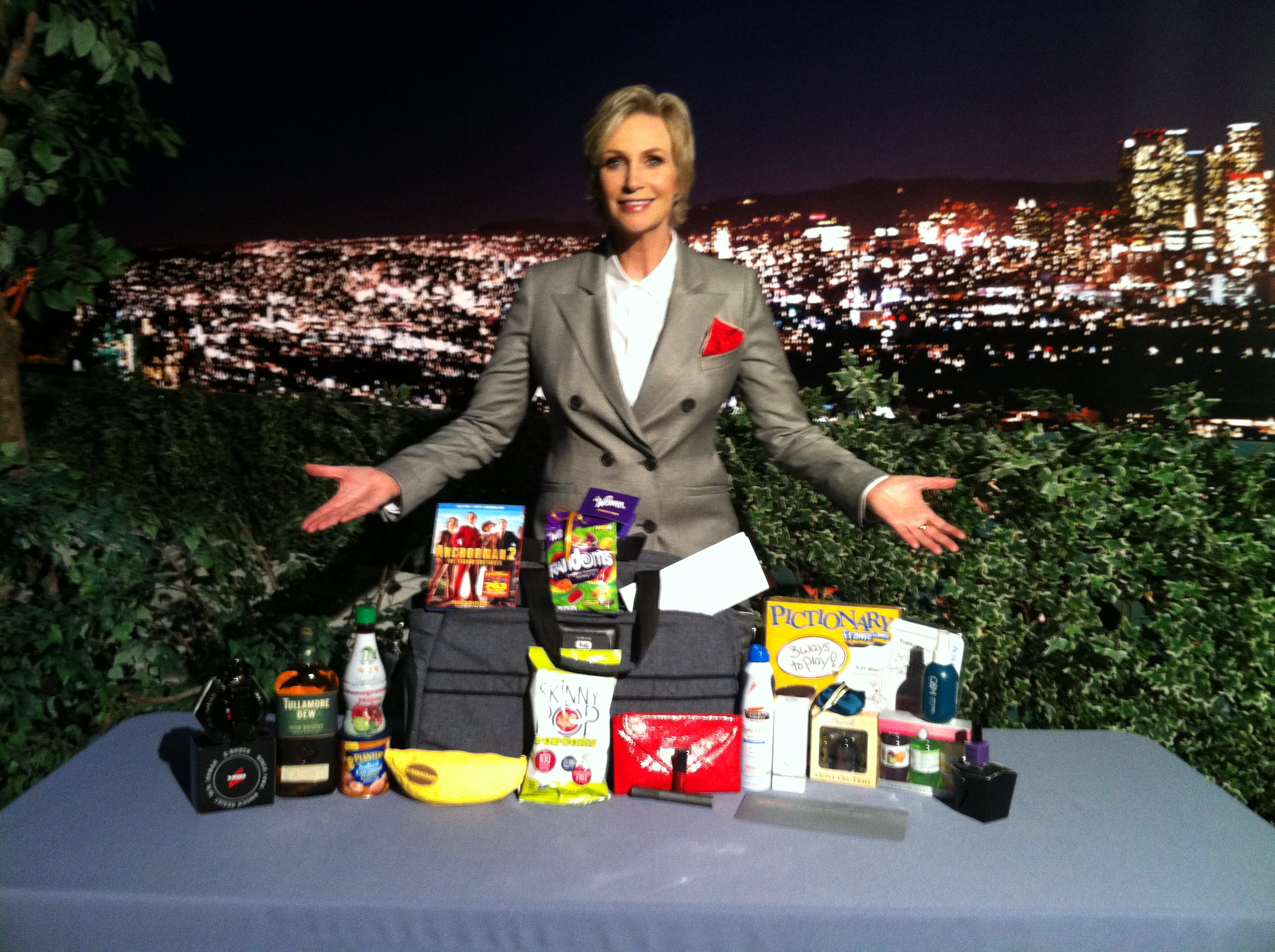 Jane Lynch Hollywood Game Night Gift Bag Giveaway SheKnows