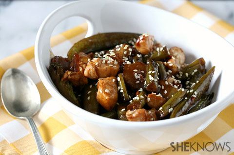 Sweet Asian skillet supper